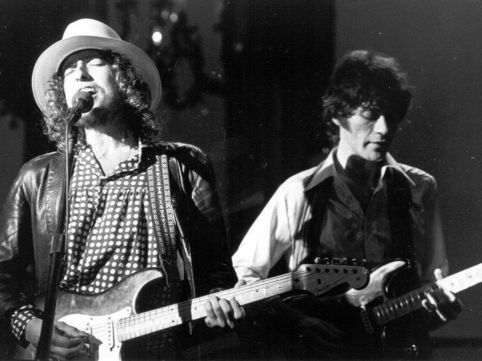 Robbie Robertson Bob Dylan