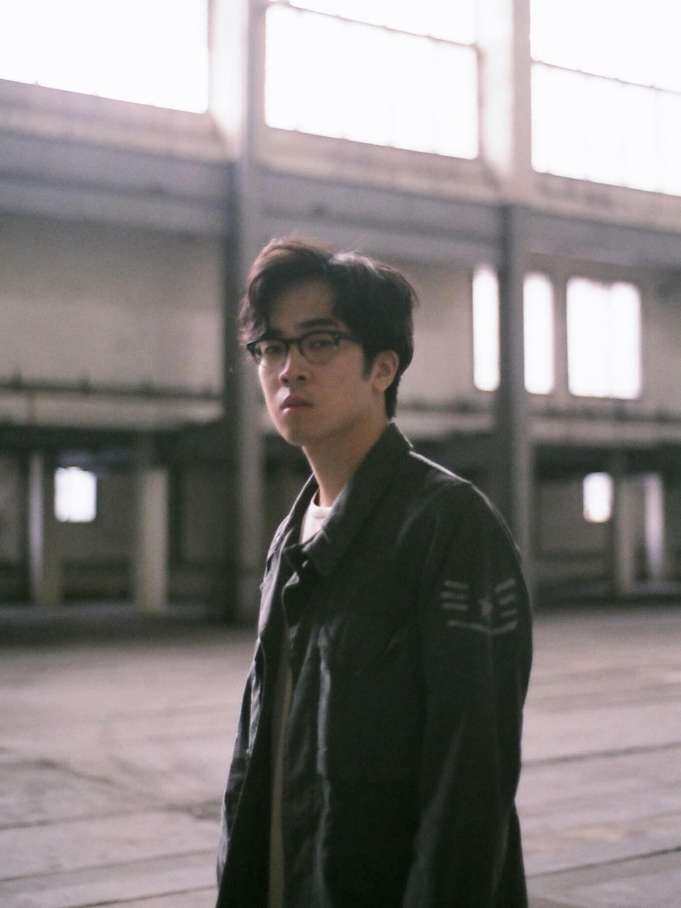Charlie Lim abandoned location portrait shot