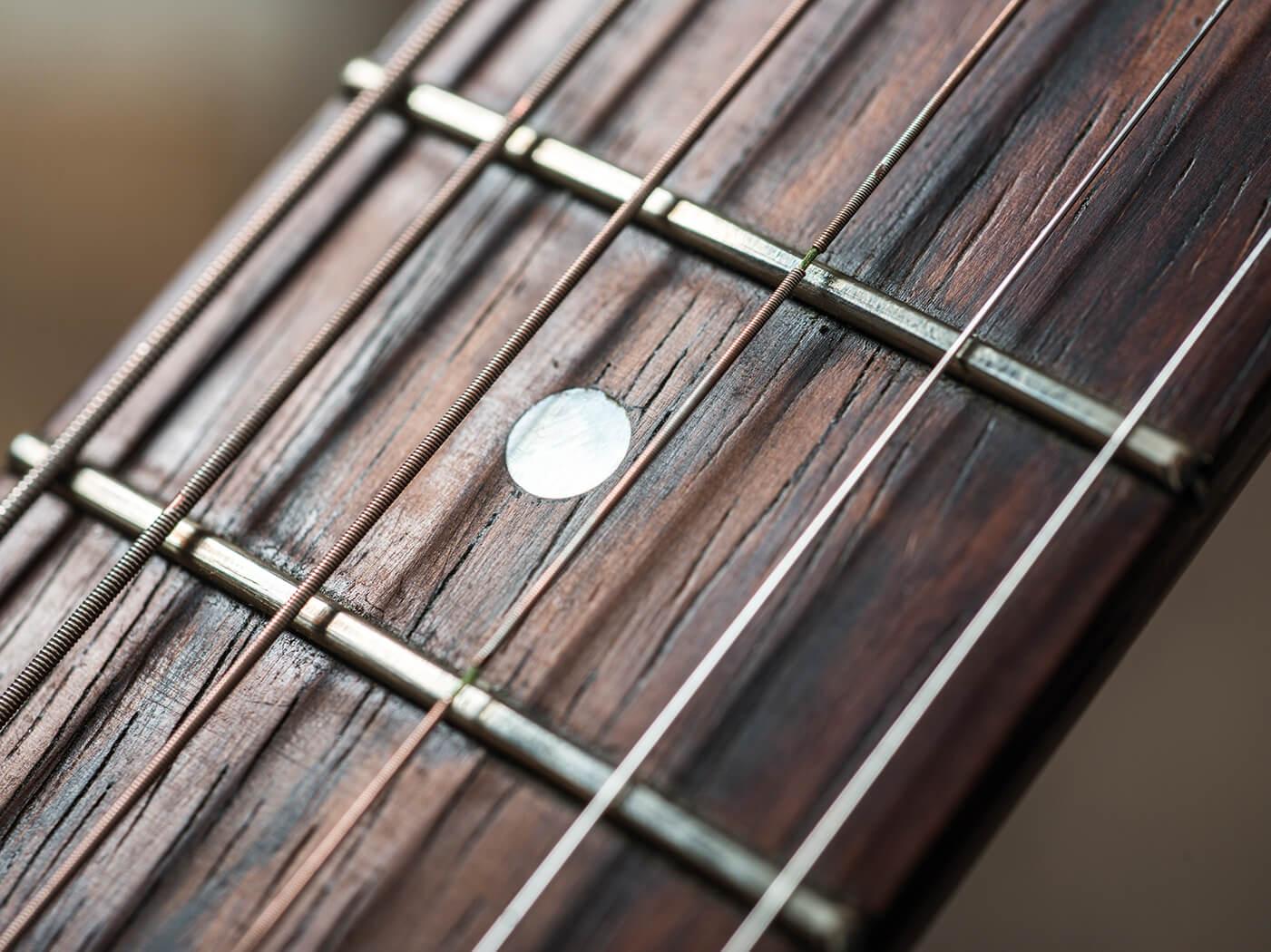Kalamazoo KG-14 fingerboard inlay