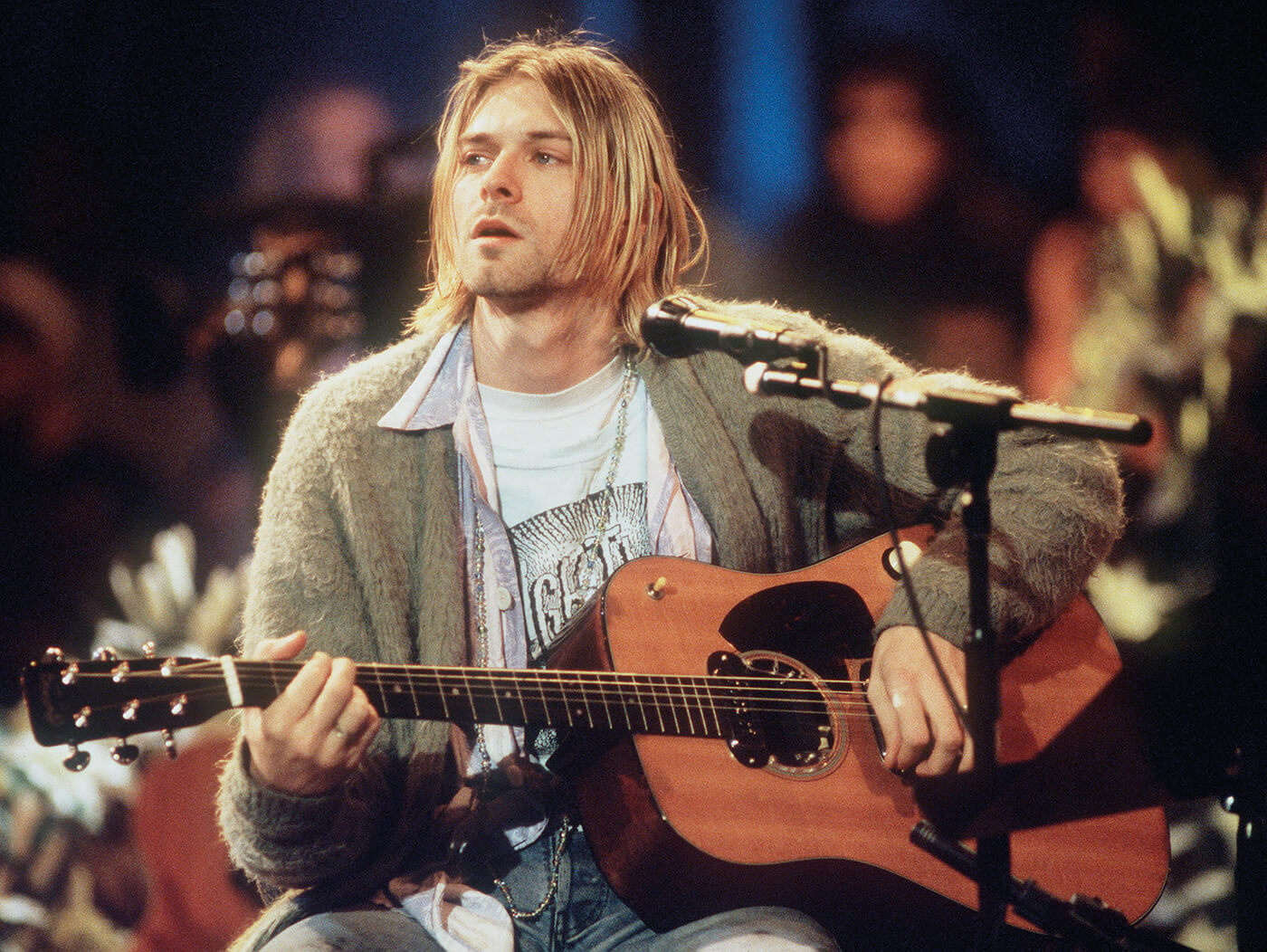 Kurt Cobain Getty Credit Frank Micelotta Archive