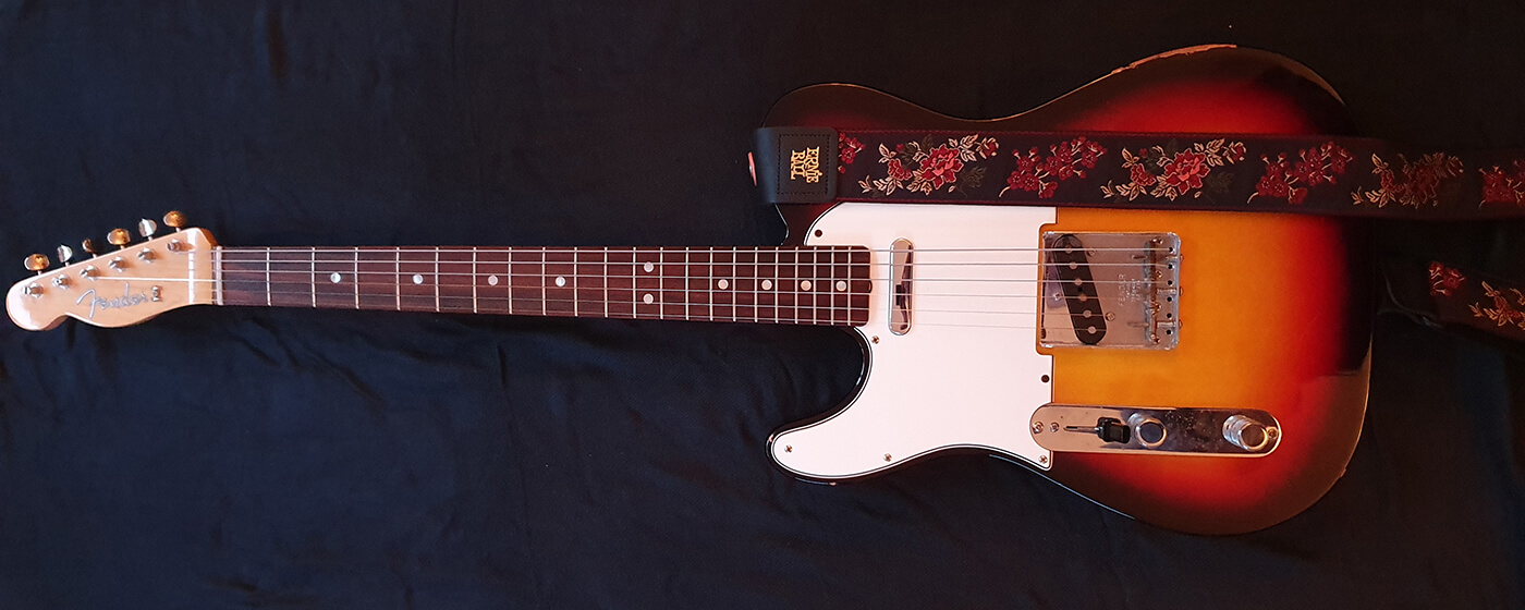 Liam Jeffery's Fender '64 reissue American Vintage Telecaster