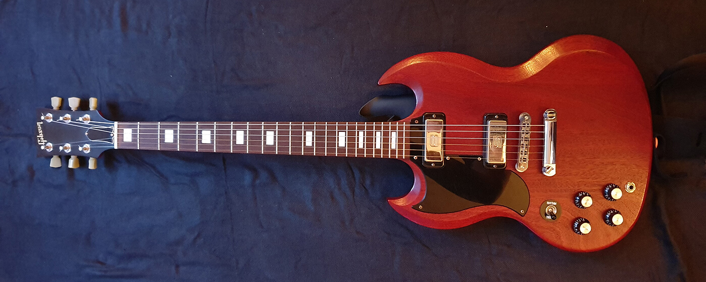 Liam Jeffery's Gibson SG 70s Tribute