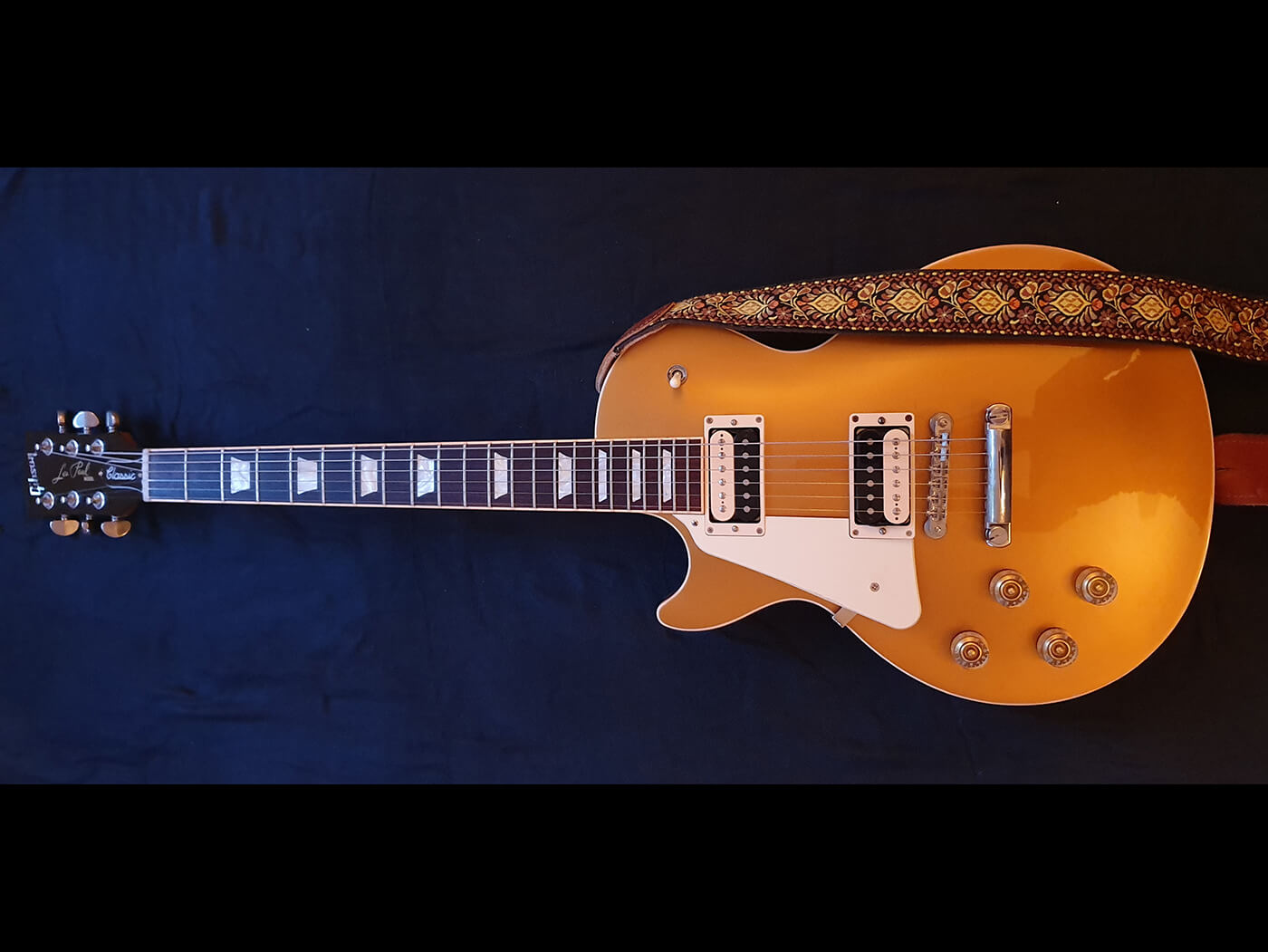 Liam Jeffery's Gibson Les Paul Classic Gold Top