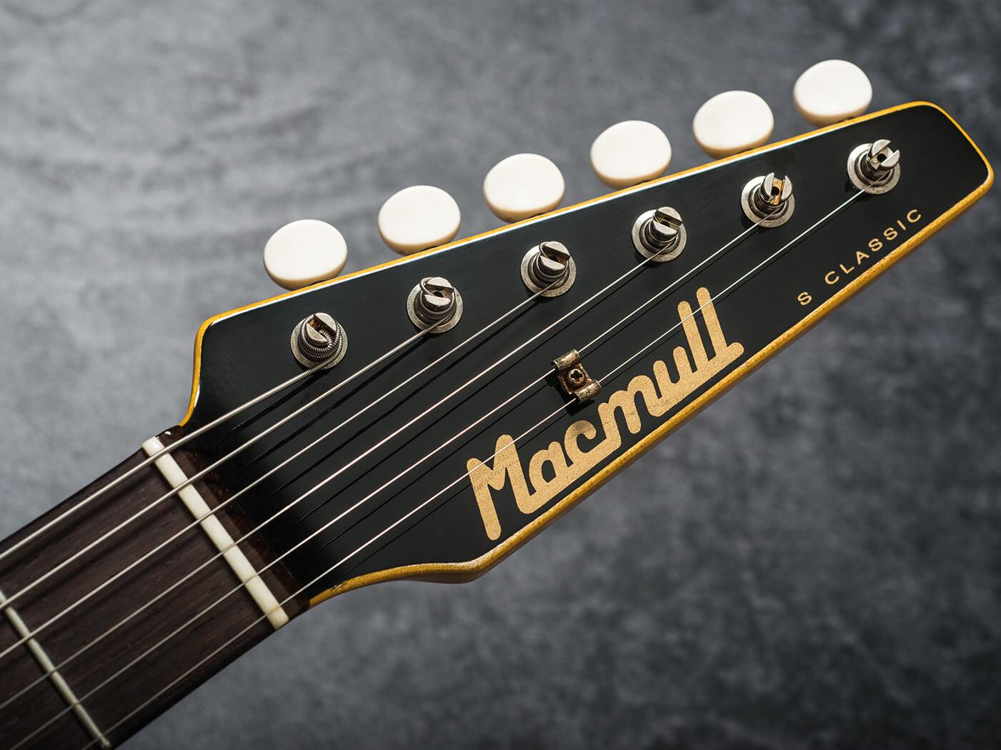 Macmull Diamond Superlight S-Classic headstock
