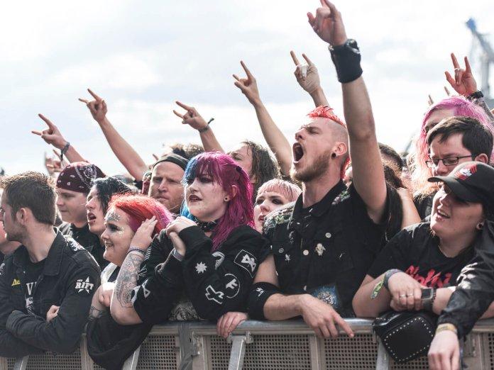 Trivum fans at Download 2019