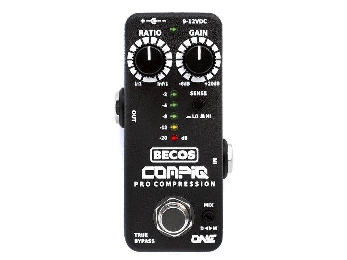 Becos Effects CompIQ Mini One Pro Compressor