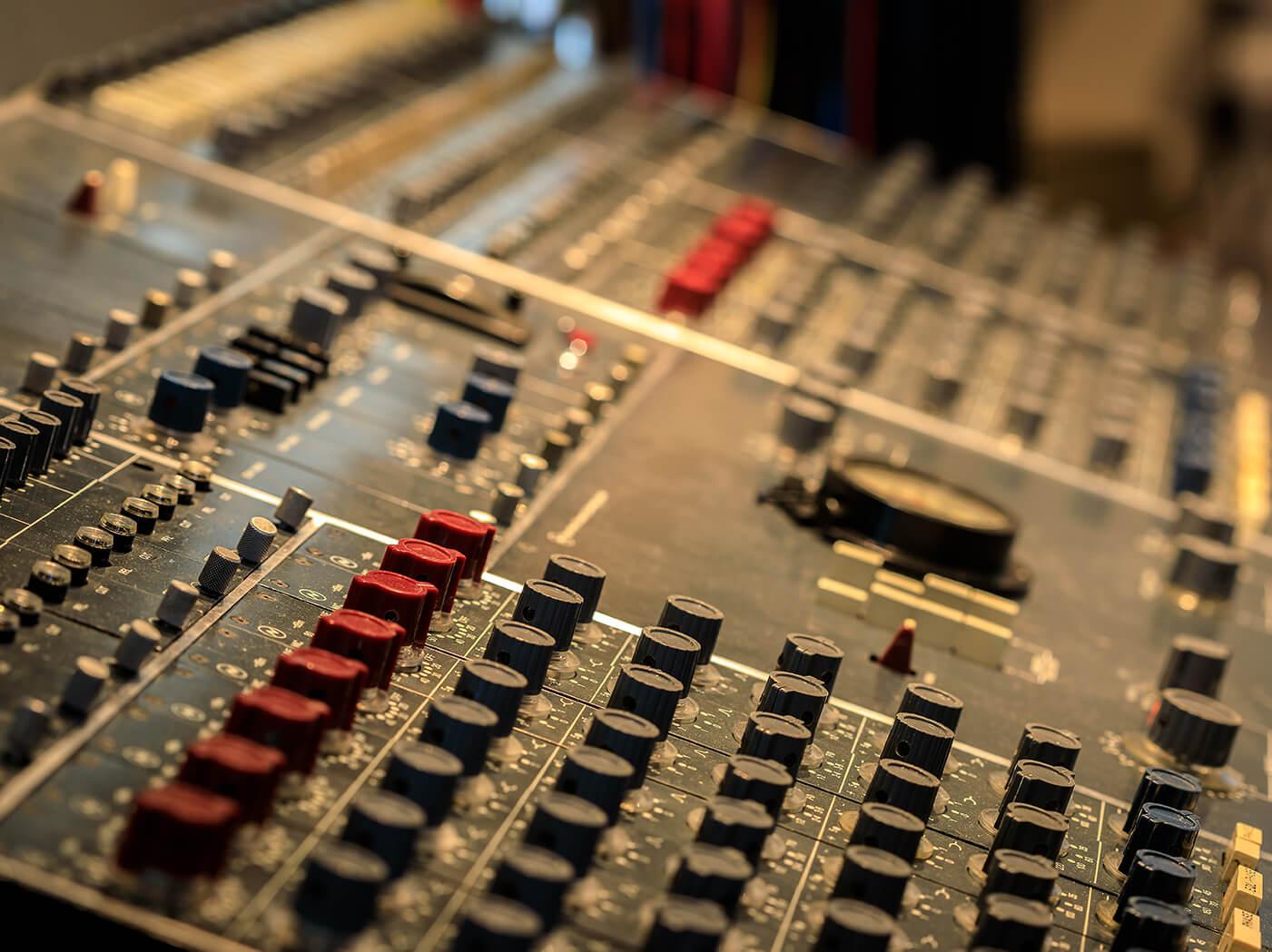rupert neve console studio