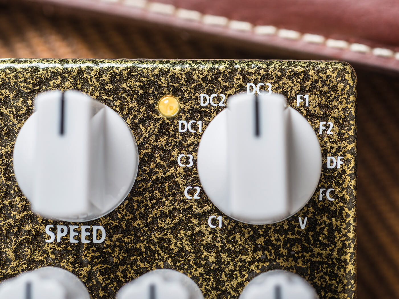 Mad Professor Double Moon Speed and DC knobs