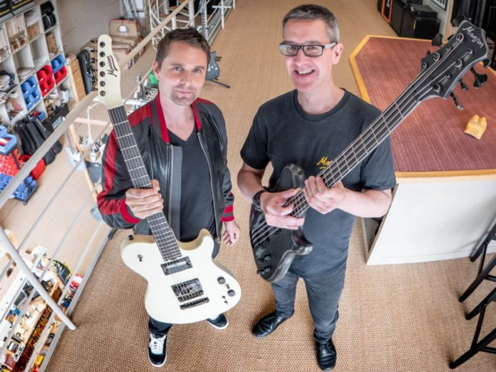matt bellamy muse manson guitar works