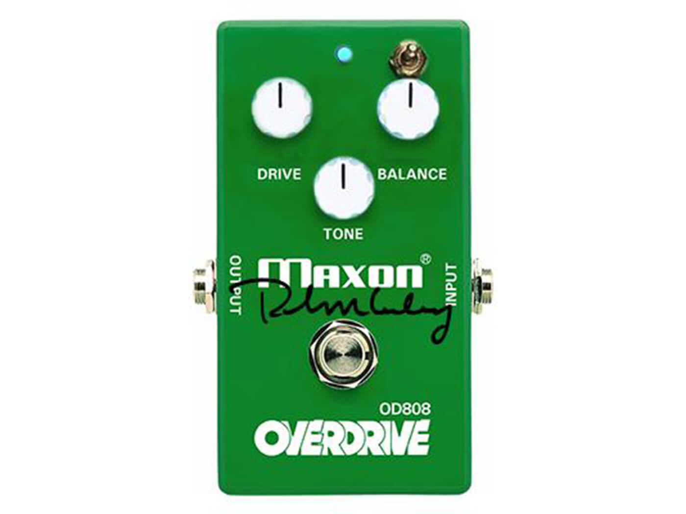 Maxon Keeley signed OD808-40K with toggle switch