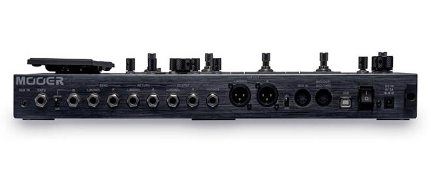 Mooer GE300 connections