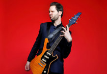 Paul Gilbert Press Shot for the Guitar Summit 2019