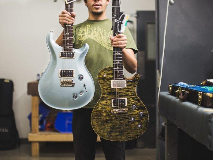 PRS Guitars factory