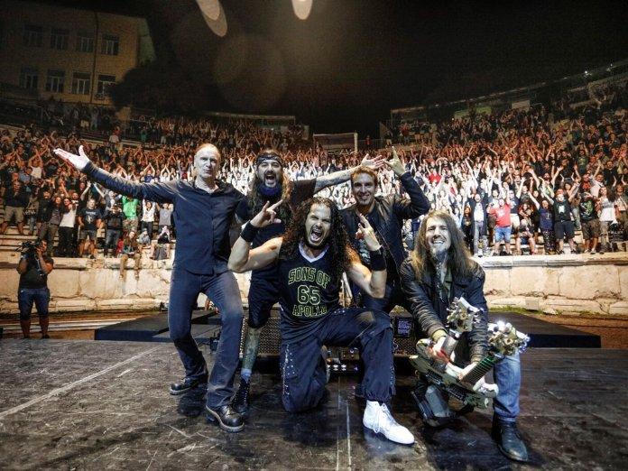 Sons of Apollo Bulgaria performance