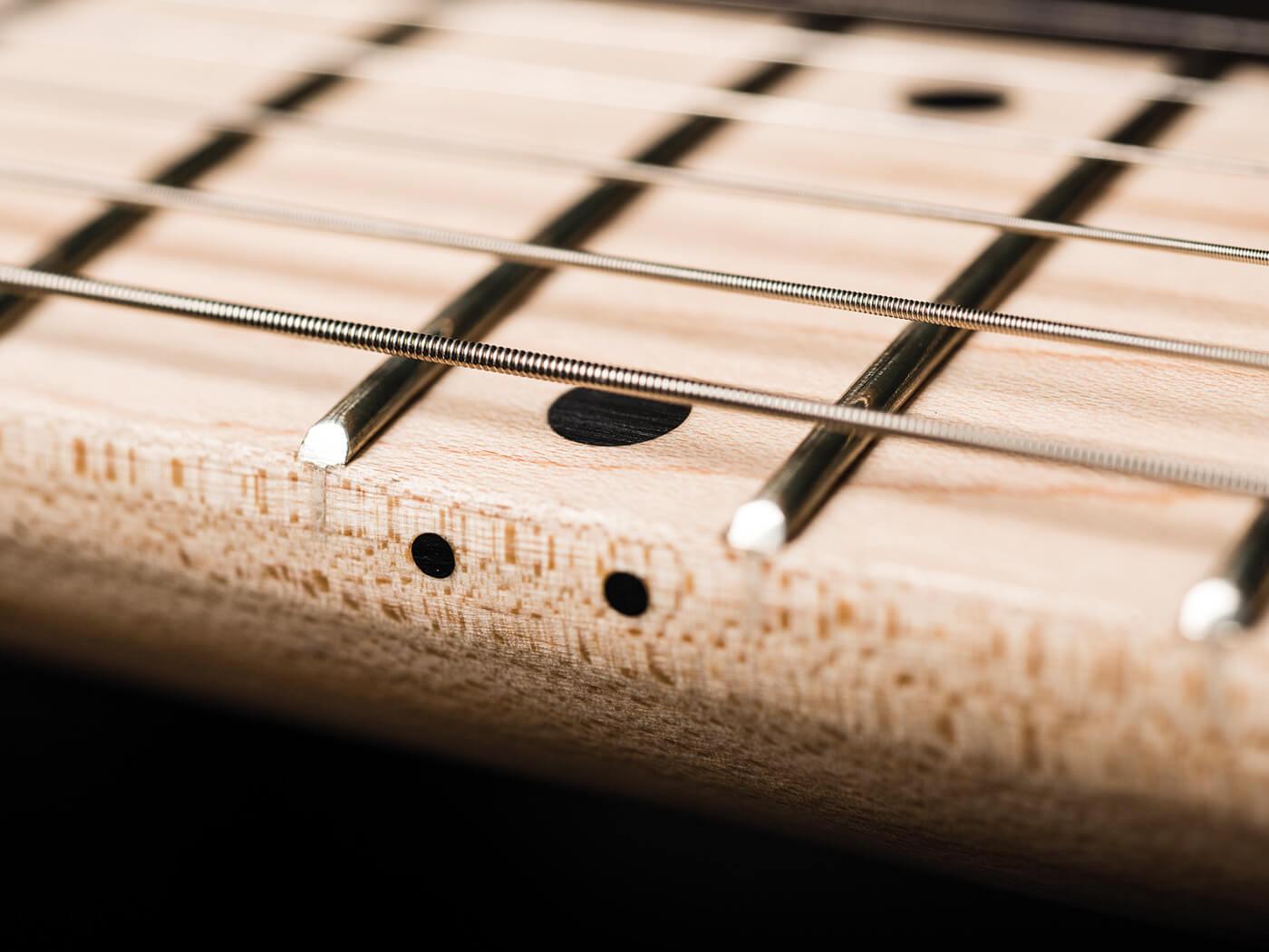 Sterling By Music Man Cutlass SSS & HSS fretboard