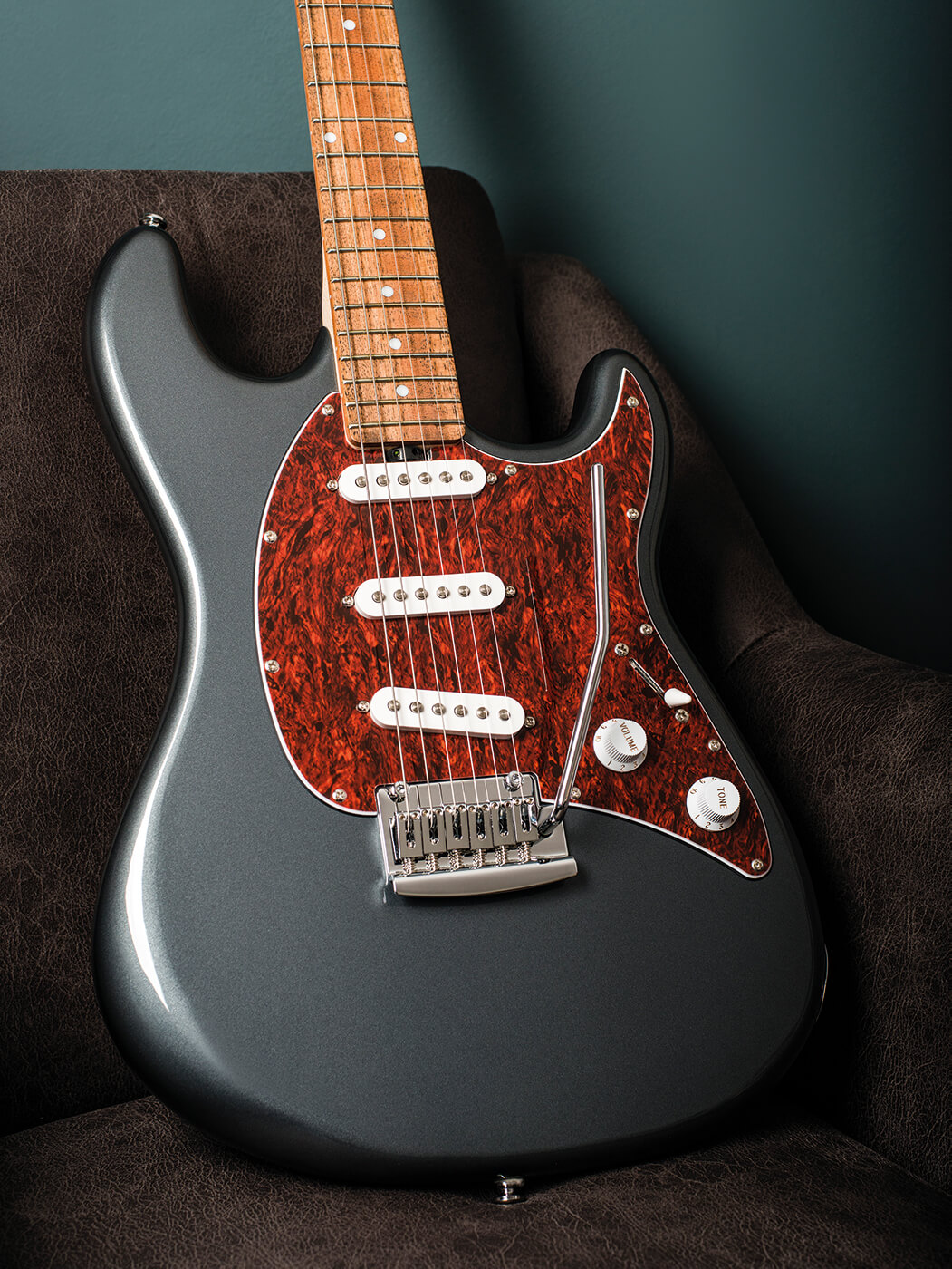 review sterling by music man cutlass sss hss all things guitar. Black Bedroom Furniture Sets. Home Design Ideas