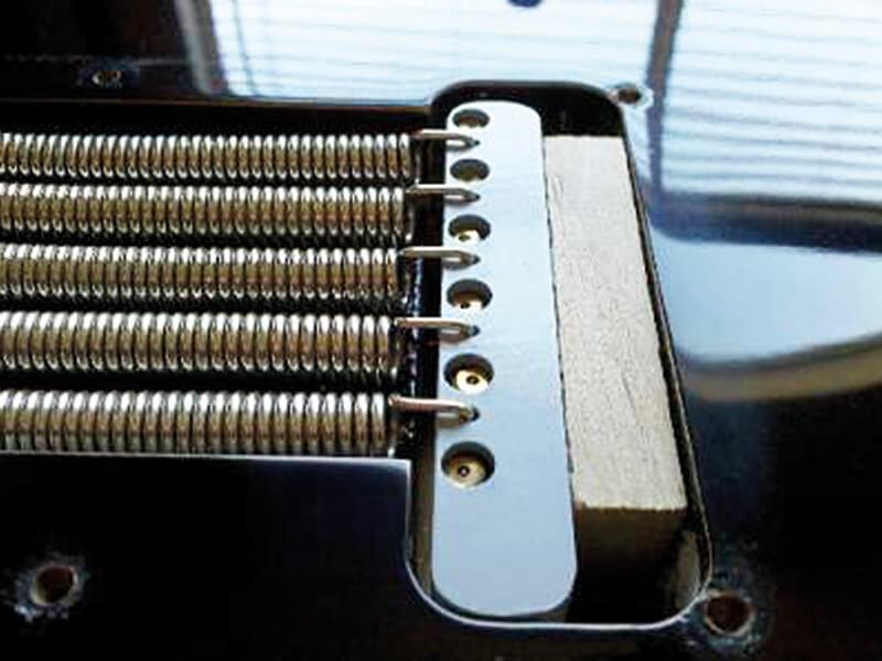 stratocaster block tremolo