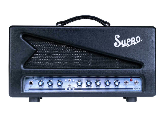 Supro Galaxy Head white background