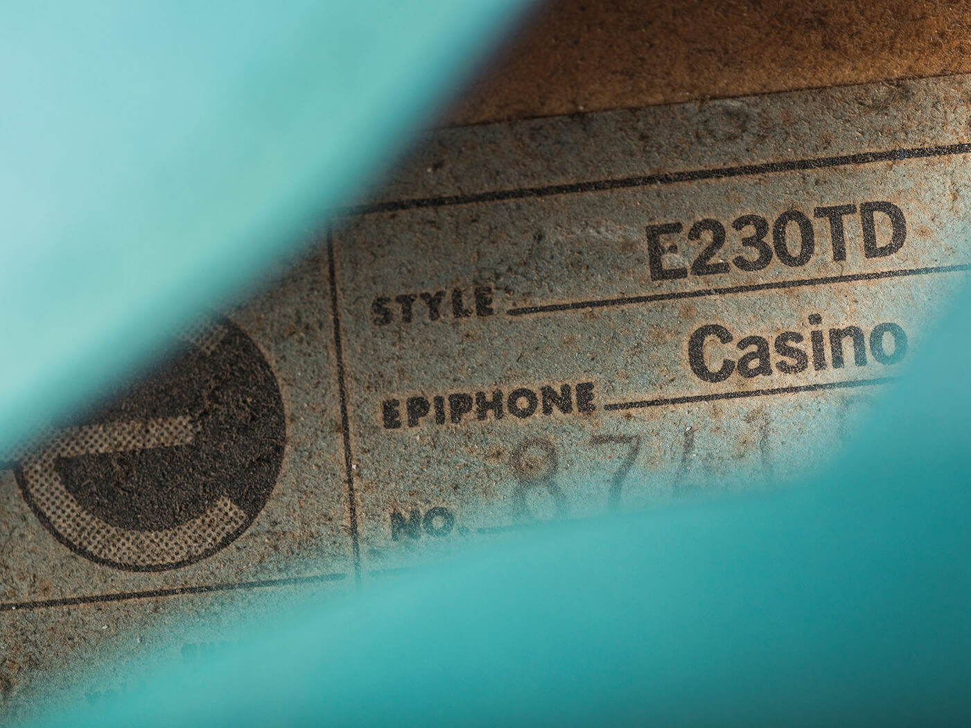 VBT Epiphone 1967 Pelham Blue label