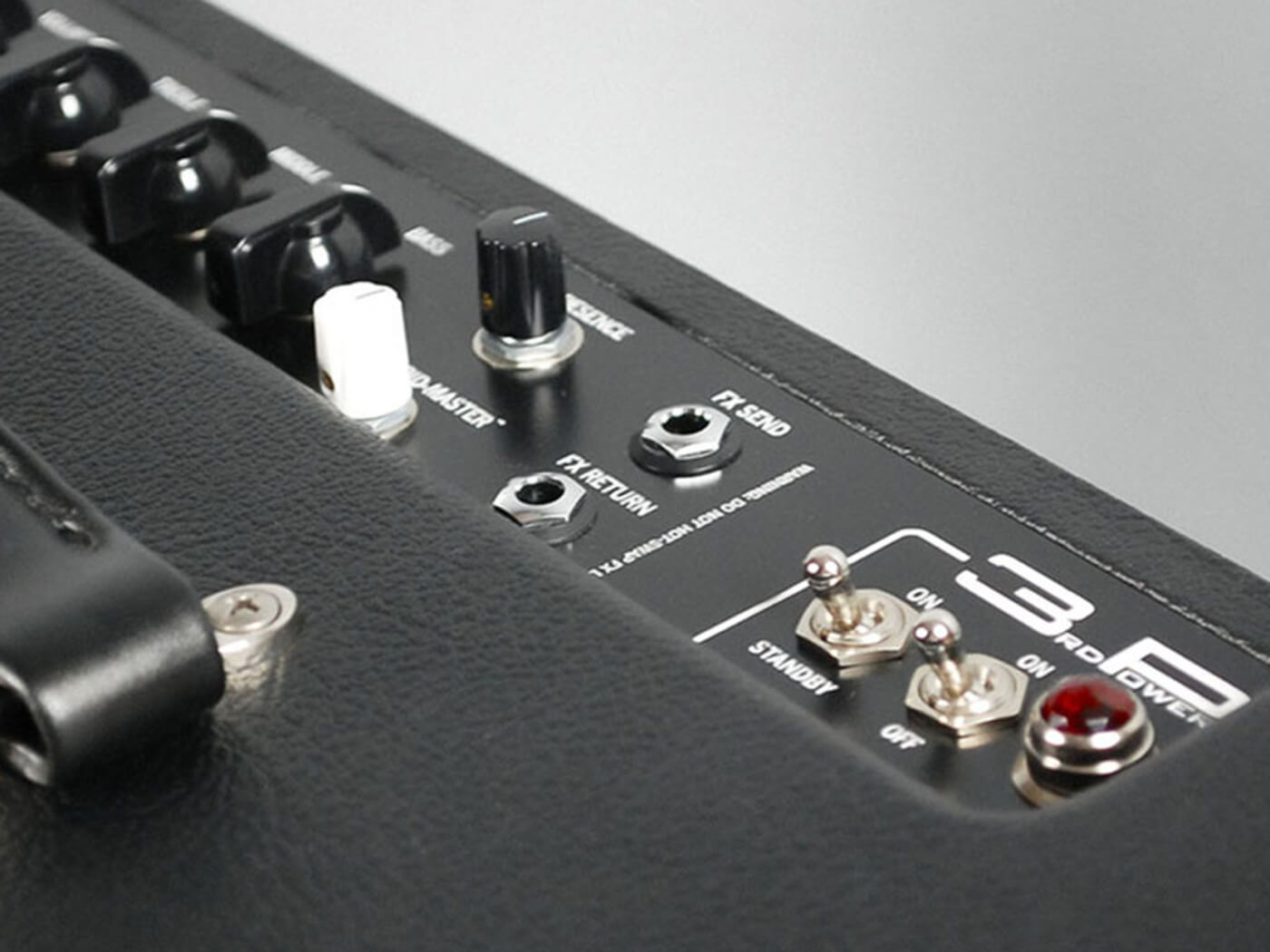 3rd Power amps dirty sink combo control panel
