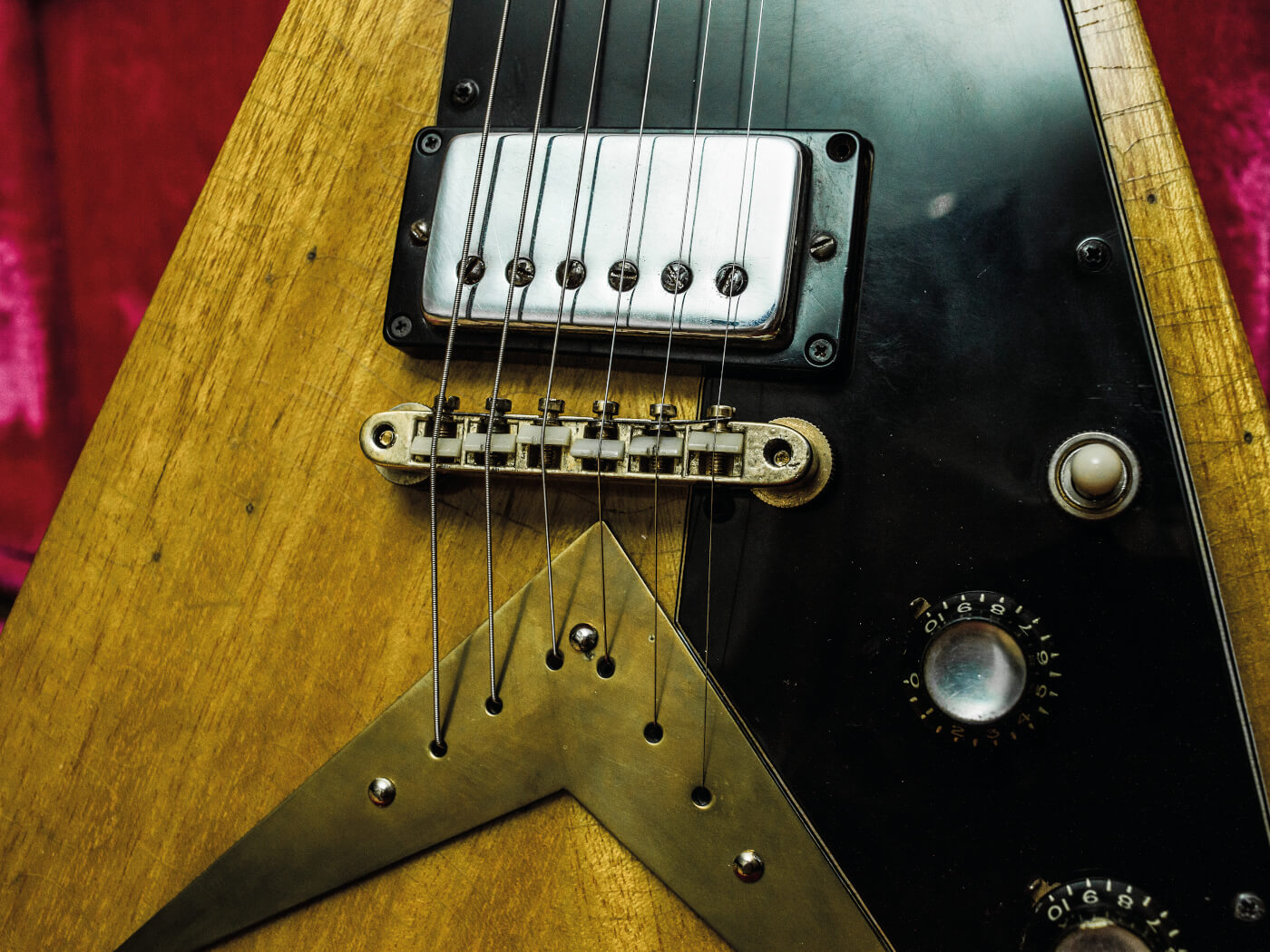 DIY Flying V conversion bridge