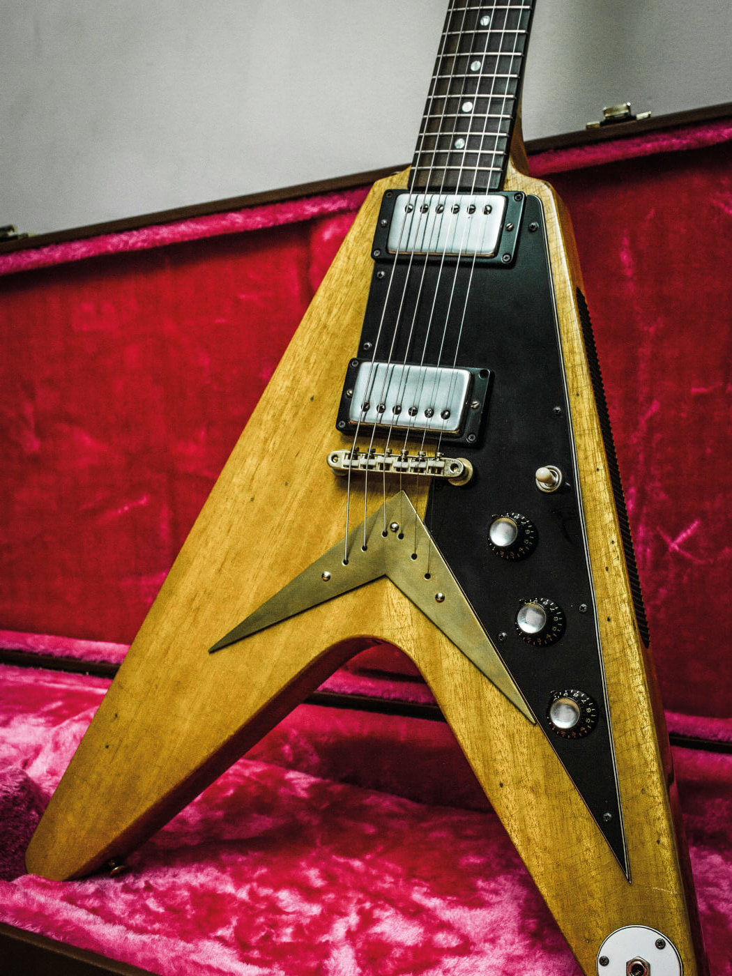 DIY Flying V conversion completed look portrait