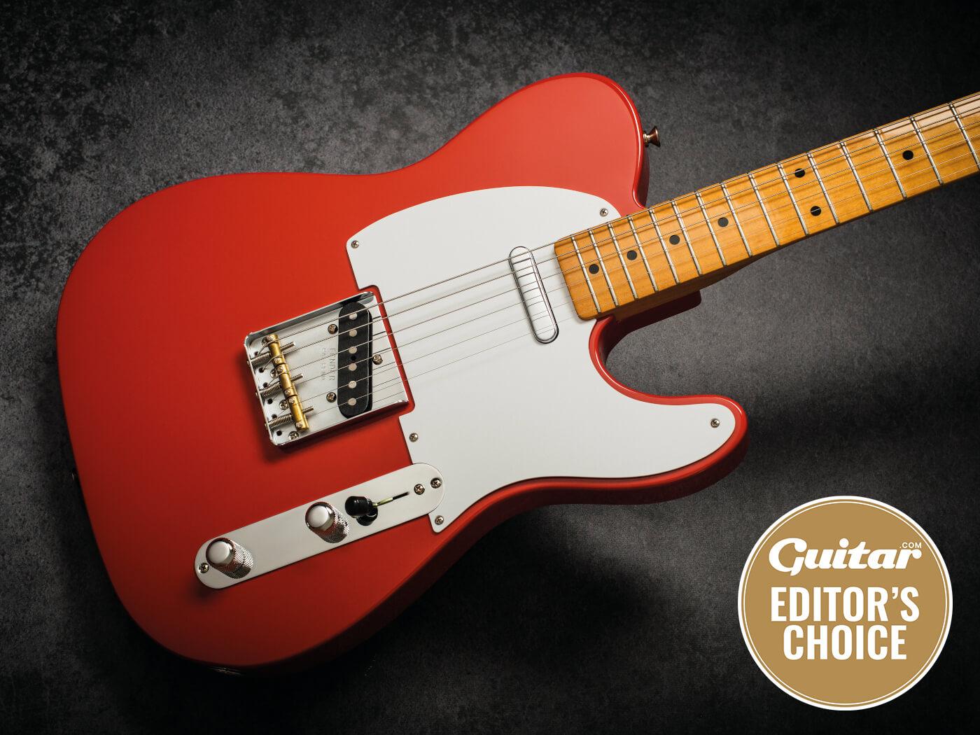Fender Vintera 50s Telecaster Fiesta Red style shot