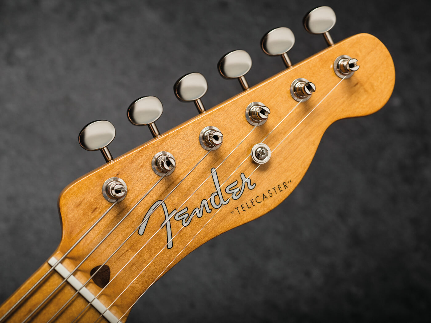 Fender Vintera 50s Telecaster Fiesta Red vintage style machineheads