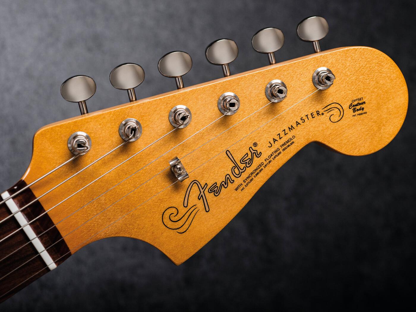 Fender Vintera 60s Jazzmaster vintage-styled machineheads