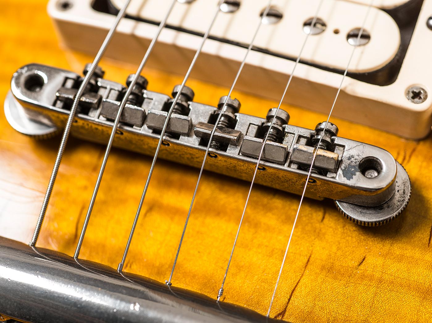 Gary Richrath 1959 Gibson Les Paul bridge