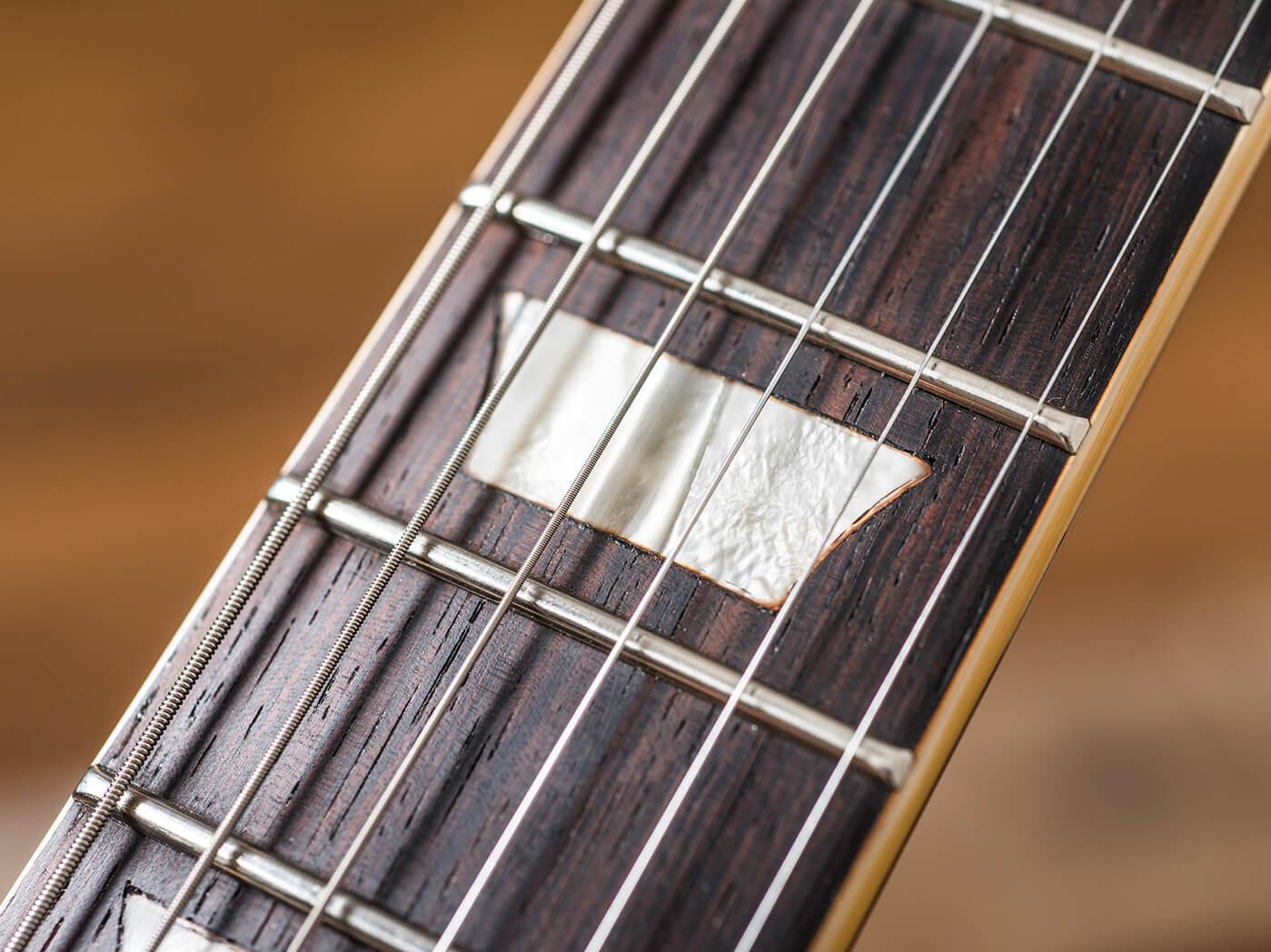 Gary Richrath 1959 Gibson Les Paul fingerboard