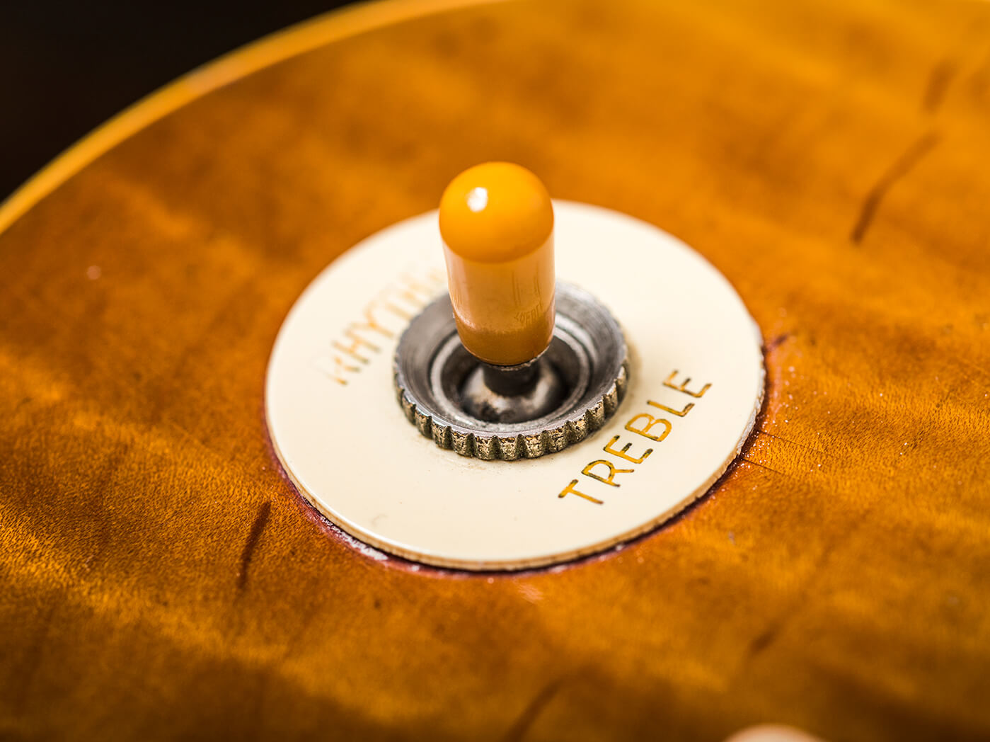 Gary Richrath 1959 Gibson Les Paul pickup switch
