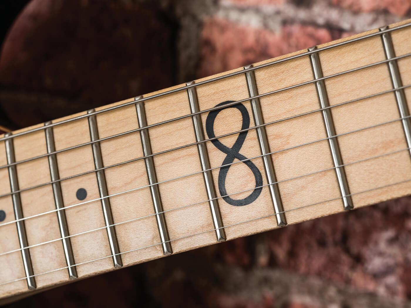 Chapman Guitars infinity inlay