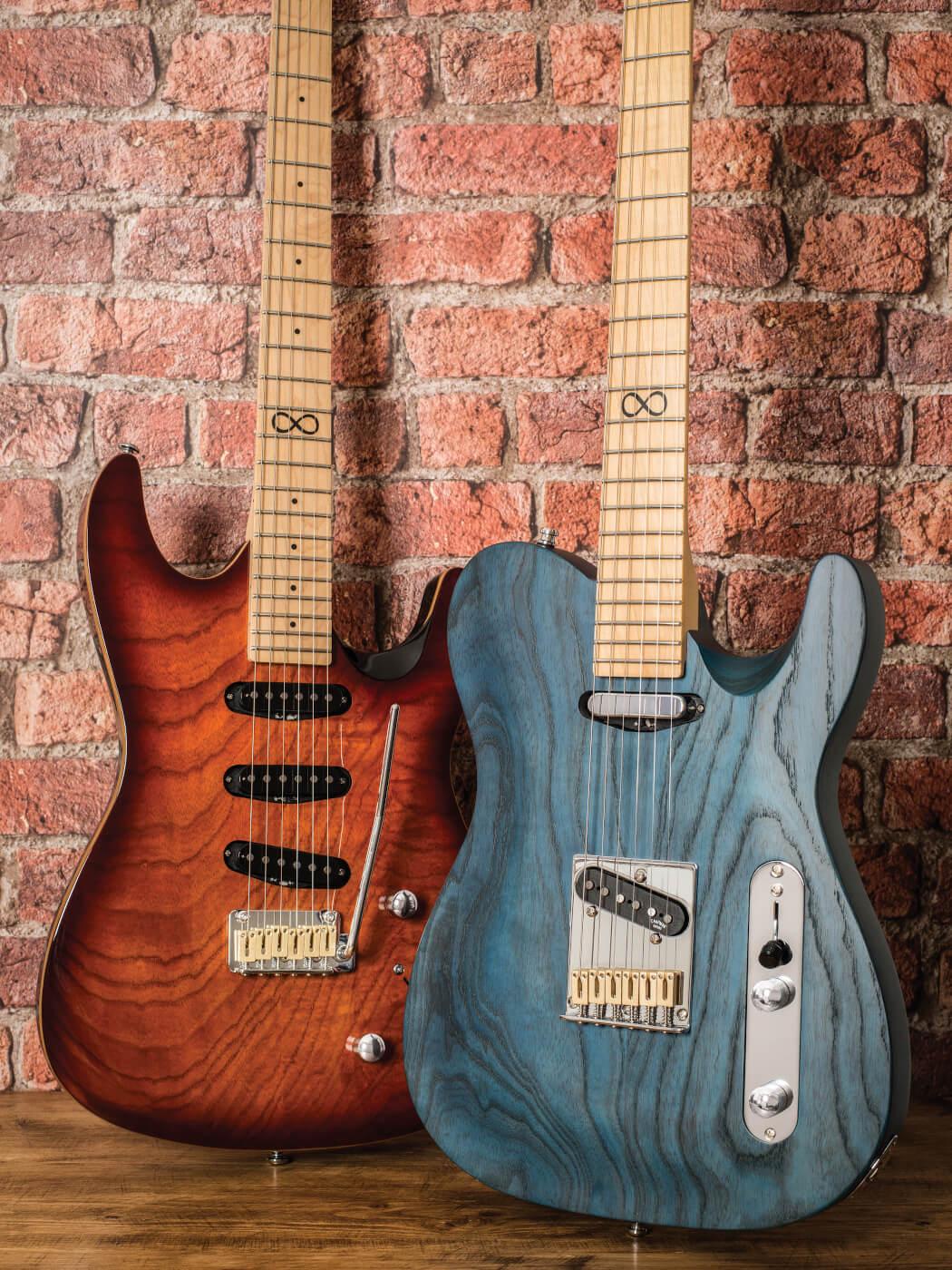 Chapman Guitars two models side by side