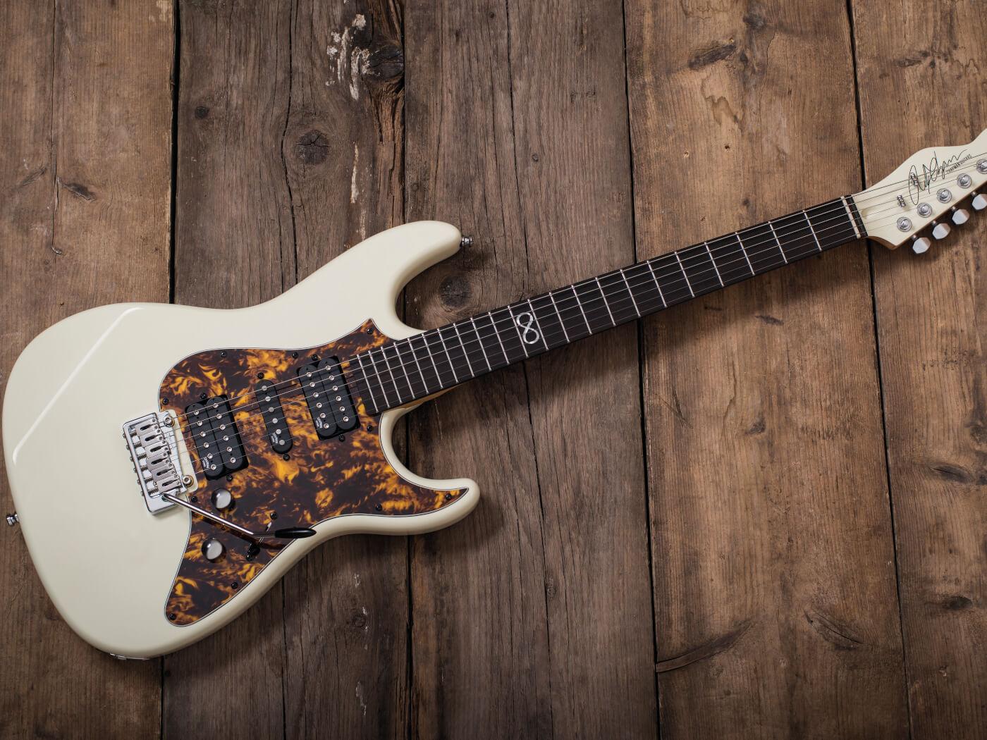 Chapman Guitars white finish