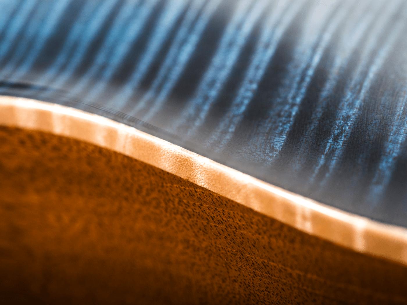 Patrick James Eggle Macon Single Cut burst and binding