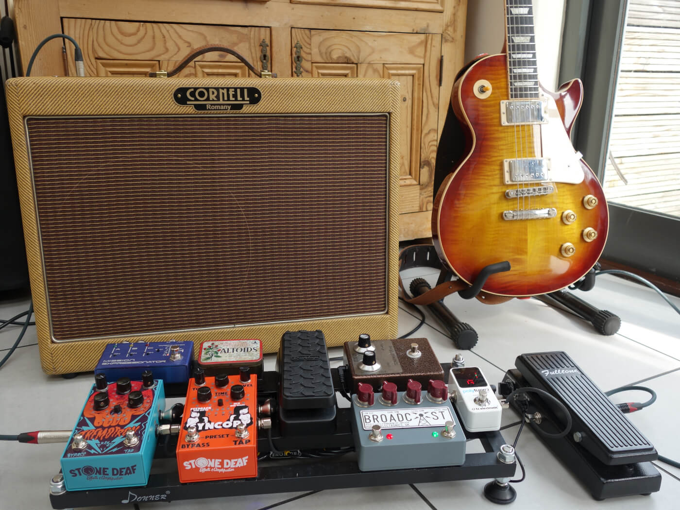 Your Board: Andrew Bentley's versatile rig for late-60s tones and beyond