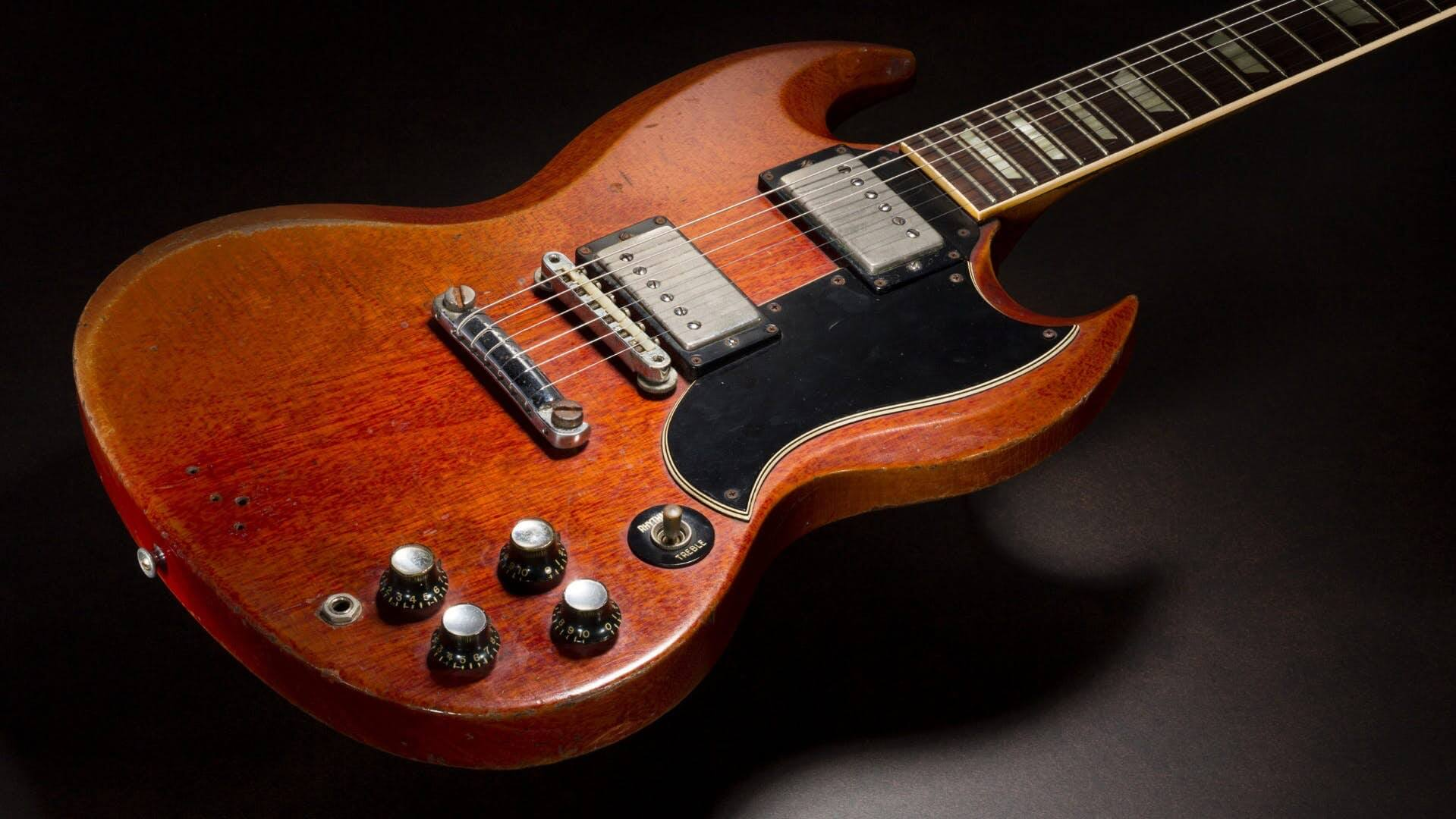 Duane Allman's Gibson SG fetches $591,000 at auction