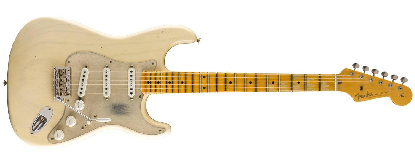 Fender '55 Dual Mag Strat Journeyman Relic in blonde