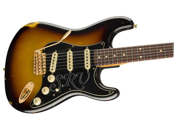 Fender Custom Shop Stevie Ray Vaughan Relic angled shot