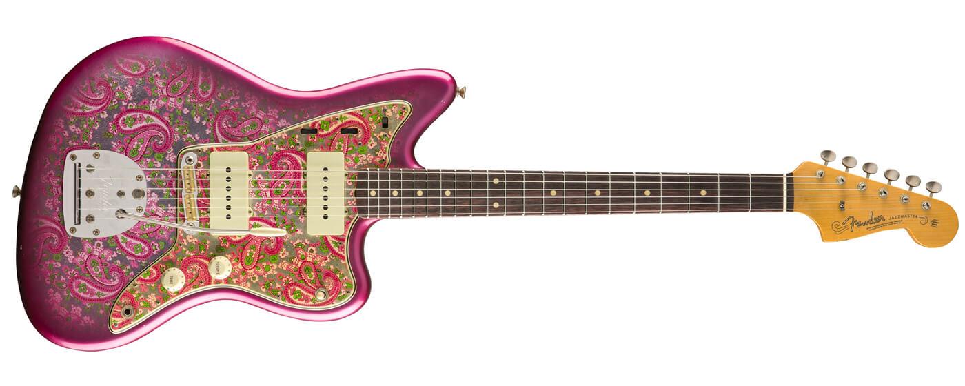 Fender Paisley Jazzmaster Journeyman Relic in pink