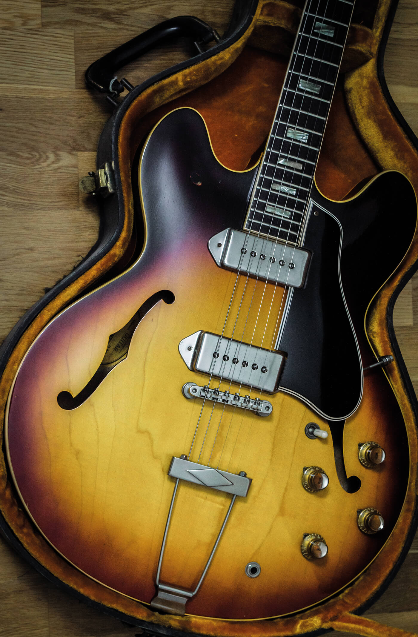 Gibson ES-330 finished restoration