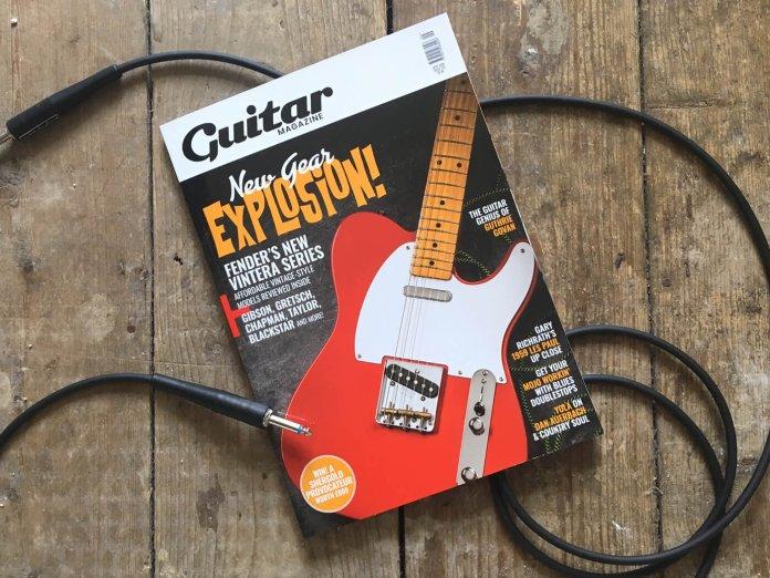 guitar magazine september issue 372