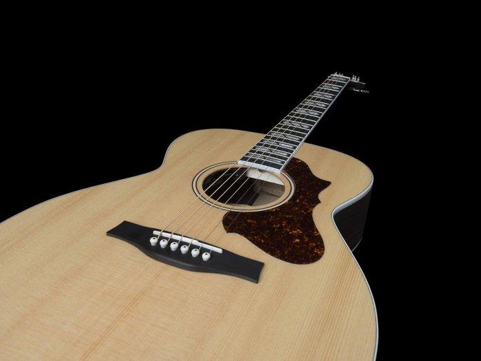 Godin Fairmount rosewood acoustic angled