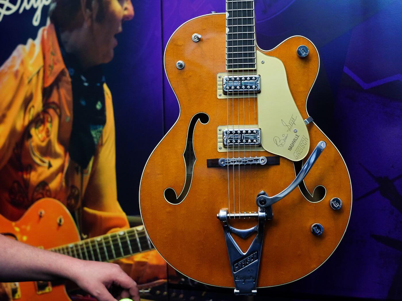 Gretsch 6120 Brian Setzer Signature Nashville Hollow Body '59 Smoke with Bigsby