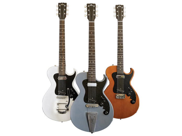 Grez Guitars Folsom trio