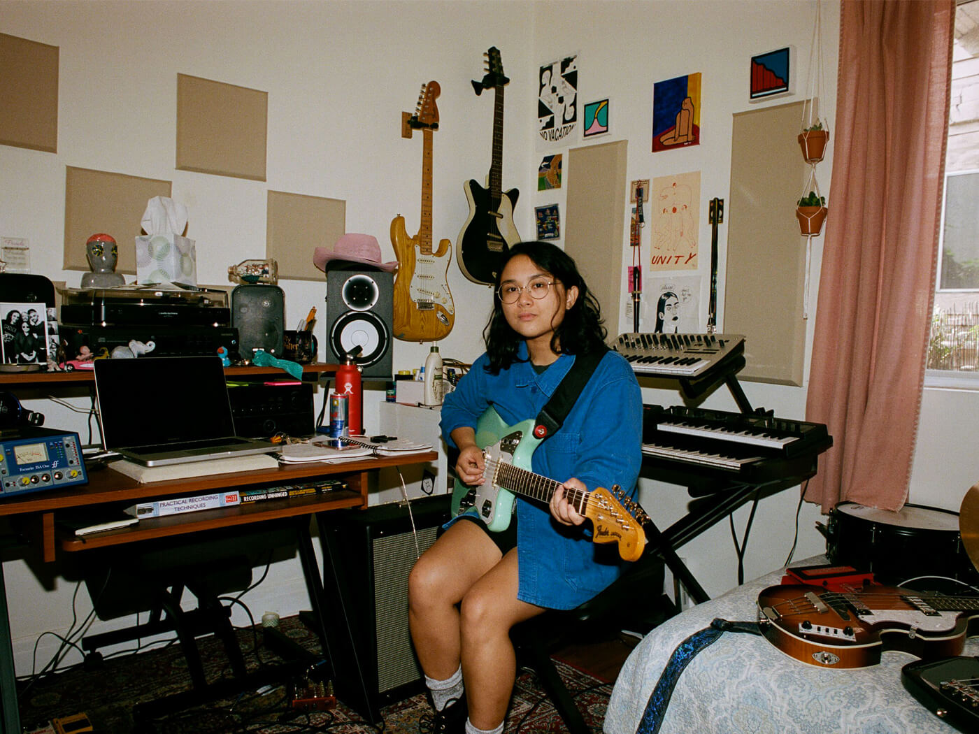 Jay Som Indie Rock S Newest Star Is Taking Her Hushed Dream Pop Out Of The Bedroom Guitar Com All Things Guitar