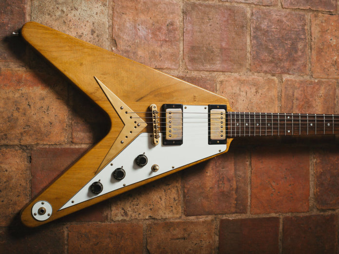 joe bonamassa flying v gibson