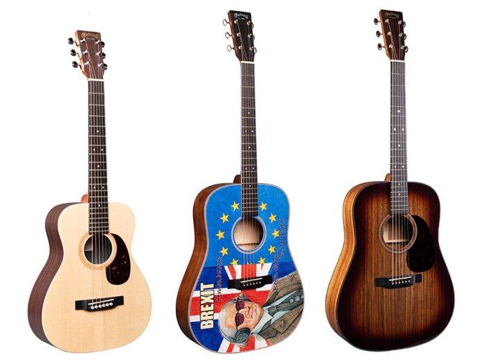 Martin Summer NAMM acoustics