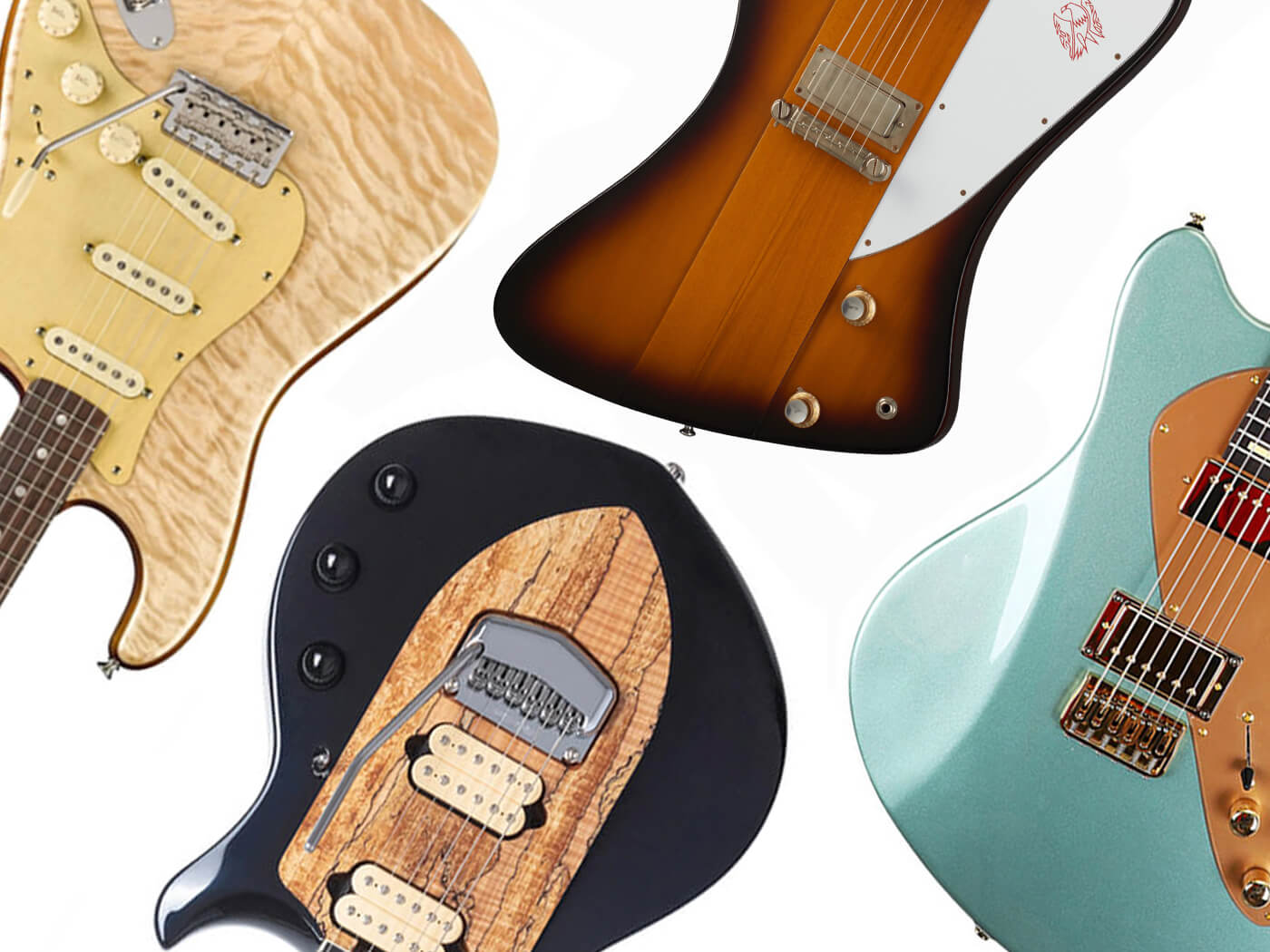 10 new electric and acoustic guitars: September 2019